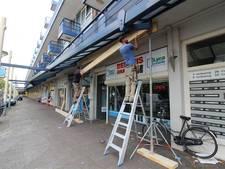 Stadlander begonnen met stutten balkons in Bergen op Zoom en Steenbergen