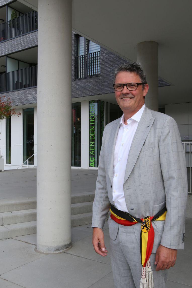 Burgemeester Boudewijn Herbots.