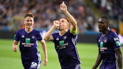 LIVE. Anderlecht leidt verdiend bij de rust na vrije trap van uitblinker Trebel, Werner alweer pineut bij Moeskroen