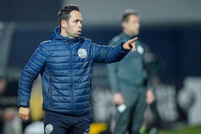 Trainer Erik van der Ven wil met zijn FC Den Bosch wegkomen uit de onderste regionen van de Keuken Kampioen Divisie.