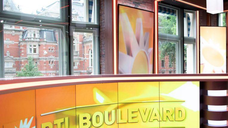 De studio van RTL Boulevard op het Leidseplein. Beeld anp