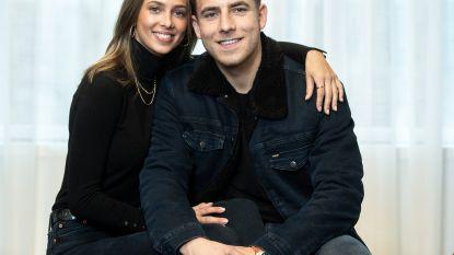 """Zeger uit 'Kamp Waes' en zijn vriendin Pauline: """"Zodra ik genoeg gesport heb, kunnen we aan 'project baby' beginnen"""""""