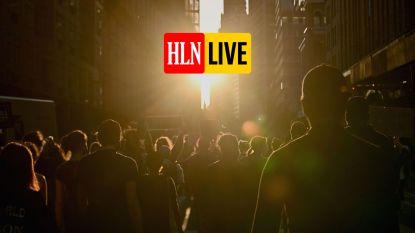HLN LIVE. Opnieuw duizenden mensen op straat in New York om te protesteren
