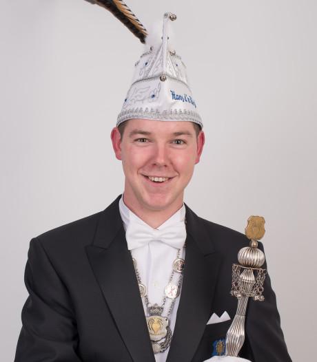 Hans d'n Urste prins van de Knöllekes in Boekel