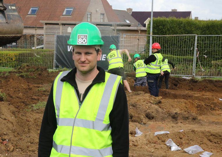 Simon Verdegem is de bezieler van het project.