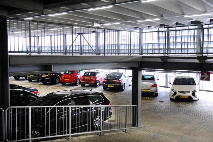 De Qpark-parkeergarage in Hengelo