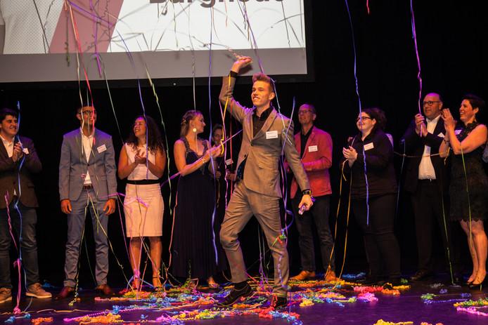 De Goudse student Mike Burghouts is uitgeroepen tot Uitblinker 2018 van het mboRijnland.