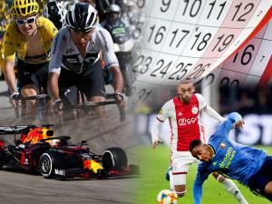 De corona-sportkalender van 2020: wanneer vindt wat nu plaats?