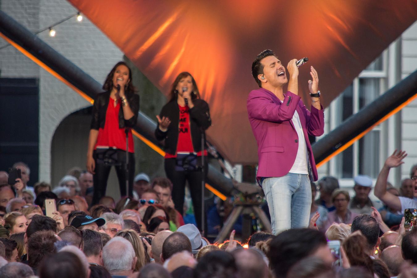 Muziekfeest op het Plein werd in 2017 in Hilvarenbeek gehouden.
