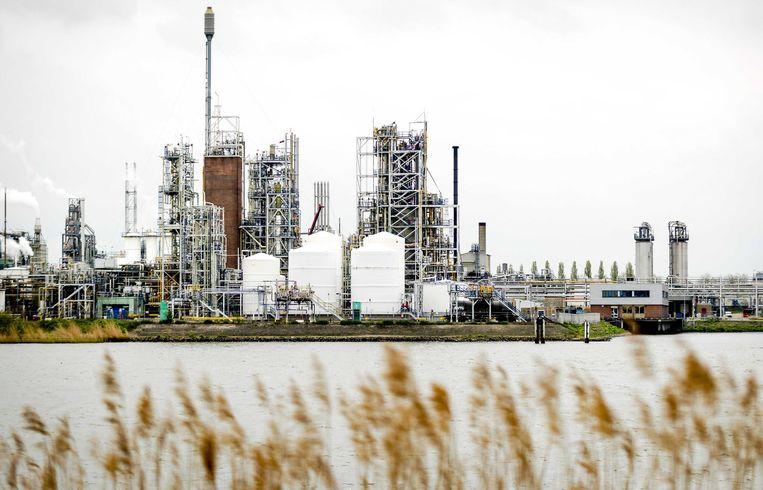 Exterieur van Chemieconcern DuPont, nu bekend onder de naam Chemours, in Dordrecht. Beeld ANP