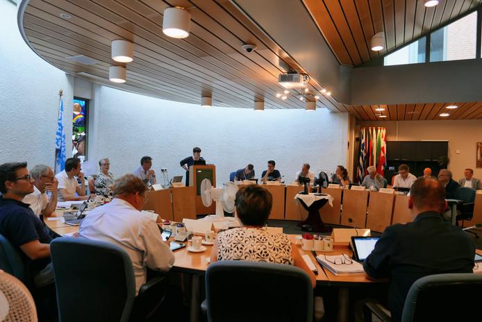 Archieffoto: de gemeenteraad van Haaren bijeen op donderdag 28 juni.