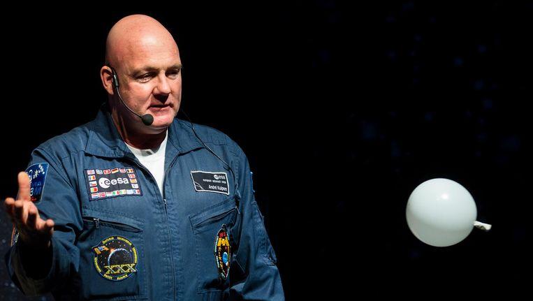 André Kuipers is twee keer in de ruimte geweest. Beeld anp