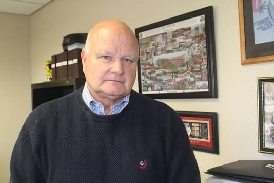 John Scheu, baas van het schooldistrict Sidney
