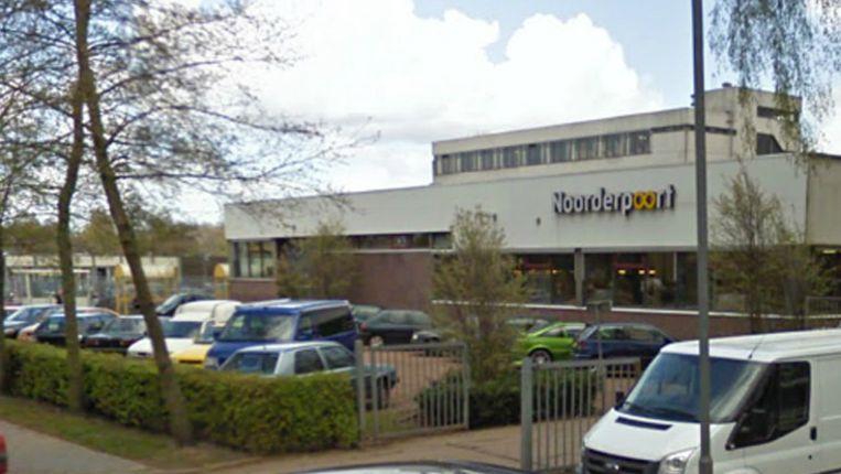 Een locatie van het Noorderpoort College in Groningen. Beeld Screenshot Google Streetview