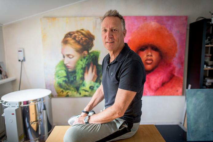 Cor Lap doet mee aan tv-programma 'Sterren op het Doek'.