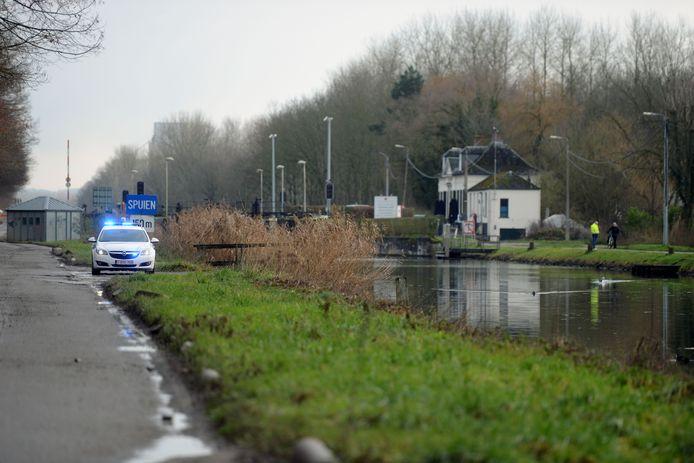 Kanaal Leuven-Dijle in Tildonk.