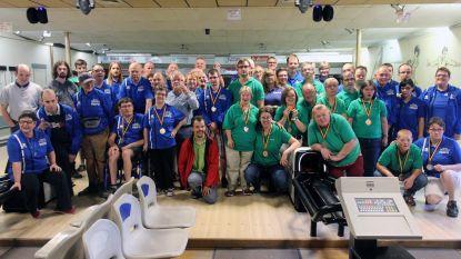 55 personen met handicap winnen medaille voor bowlen