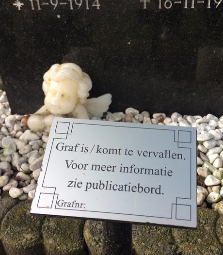 Kerkhof van Uden vol 'vergeten' graven