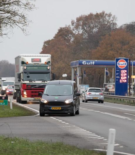 Ernstige verkeershinder tussen Raalte en Wierden vanaf 1 juli