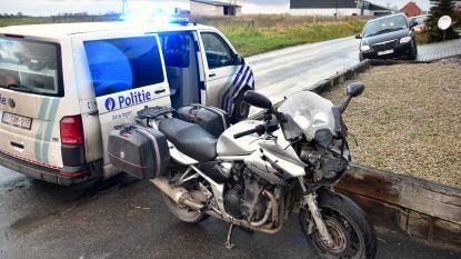 Jimmy's botsen: motorrijder gewond na klap tegen wagen