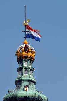 Geen vlaggen op Lange Jan vanwege broedende slechtvalk