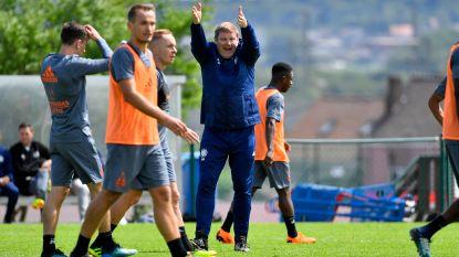 """Anderlecht hervat met 26 spelers, Vanhaezebrouck: """"De lat zal hoog liggen. Wie niet kan volgen, valt af"""""""