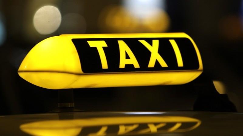 Foto ter illustratie taxi