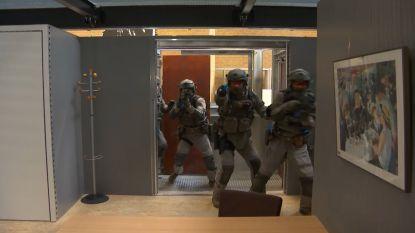 Speciale eenheden trainen vanaf nu in dit nieuwe centrum van 900.000 euro
