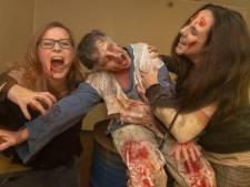 Zombie-aanval tijdens Halloween in Vlissingen