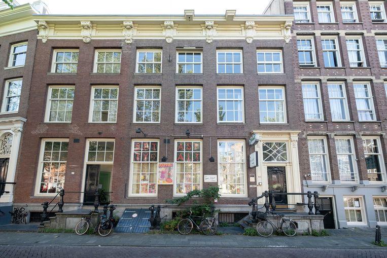Het Betty Asfalt Complex op Nieuwezijds Voorburgwal 282. Beeld Stadsherstel