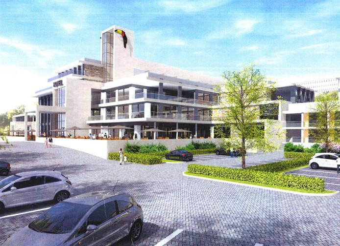 Impressie van het nieuwe Hotel Nuland - 's-Hertogenbosch.