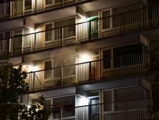 Brand in appartement van flat aan de Colijnstraat in Vlissingen