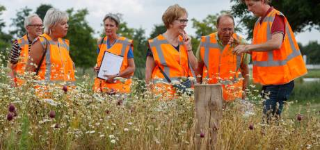Kruidenmengsels en bloembollen fleuren entrees van kernen in gemeente Moerdijk op