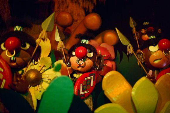 'Carnaval Festival' kwam onder vuur te liggen wegens deze figuren.