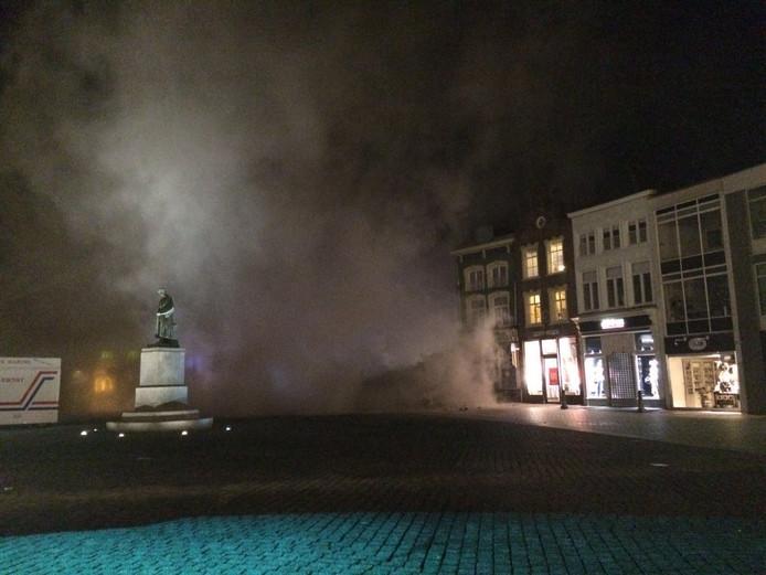 Gebouw aan Markt Den Bosch ingestort