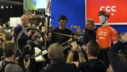 KOERS KORT. Van Avermaet laat Kuurne-Brussel-Kuurne schieten en showt nieuwe fiets - Kniezorgen verleden tijd voor Campenaerts