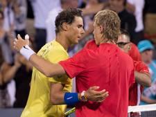 Nadal verslikt zich in 18-jarige Canadees