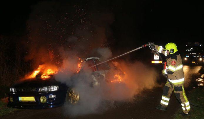 Er was deze jaarwisseling in de regio Gelderland-Zuid vooral sprake van kleine branden.