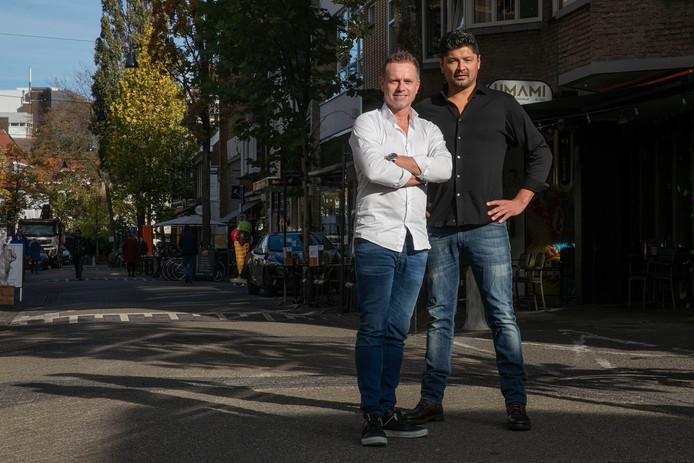 Arjan Bouter (links) en Tom van Brussel.