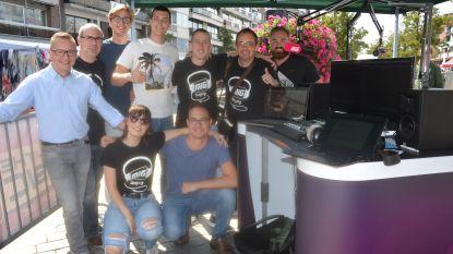 Radio MIG start in Ninove met live-uitzending op jaarmarkt