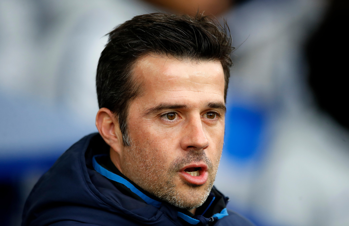 Everton-trainer Marco Silva.