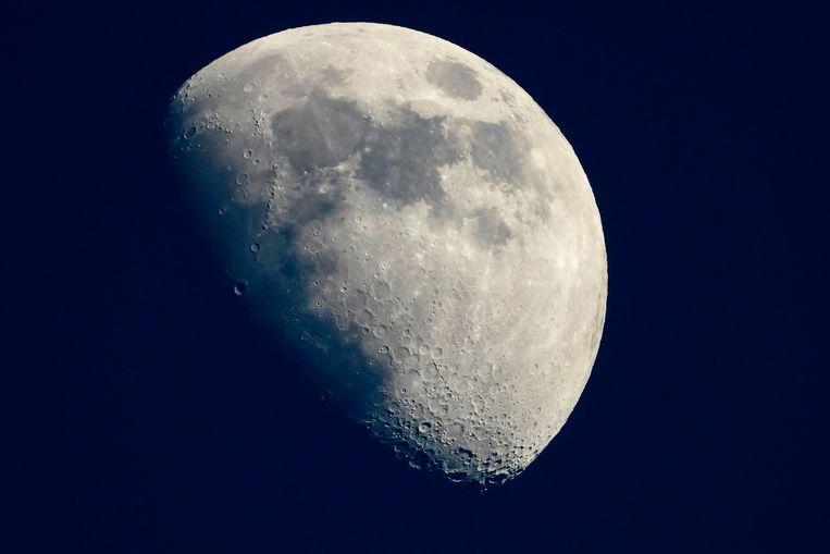 Beeld ter illustratie, NASA wil een rover naar de zuidpool van de maan sturen om er water te zoeken.