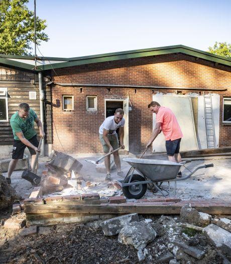 Jong Nederland krijgt eindelijk een fatsoenlijke opslagruimte in De Lutte
