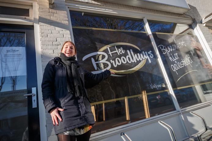 Broodwinkel van Jessica Schrauwen - Het Broodhuys - gaat Bosschenhoofd eindelijk weer van dagelijks brood voorzien.