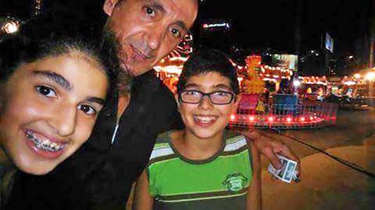 Mher Sarkissian, de vader van Jean uit The Voice Kids. © Mher Sarkissian