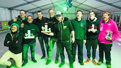 Zestig deelnemers voor eerste kubb-tornooi op ijs
