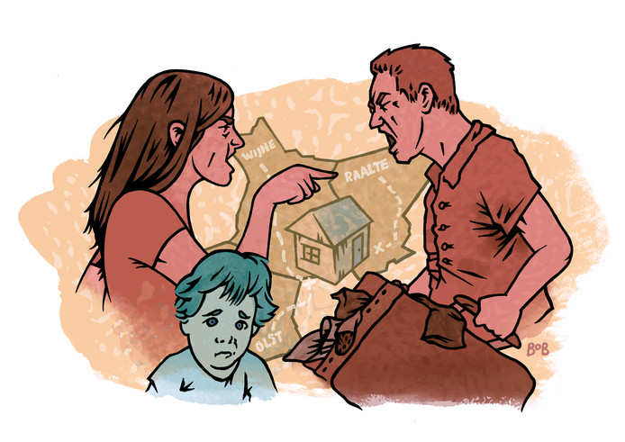 Ouders in Raalte en Olst-Wijhe die in een echtscheiding liggen, kunnen tijdelijk wonen in een zogeheten Parentshouse in Raalte.