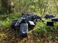 Hennepteler dumpt afval over kilometers langs Maasdijk