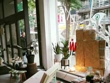 Vechtersbazen vernielen ruit nieuwe winkel op Witte de Withstraat