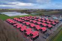 In Luttelgeest is van uitzendorganisatie Level One een park met chalets voor 300 arbeidsmigranten.